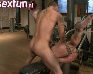 Homo sm in de sportschool